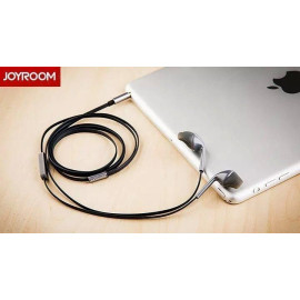Joyroom ® JR-E101 3.5mm Flat Cable In-ear Stereo Earphone with Mic Earphone