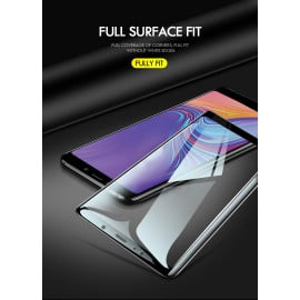 Dr. Vaku ® Samsung Galaxy A8 (2018) 5D Curved Edge Ultra-Strong Ultra-Clear Full Screen Tempered Glass