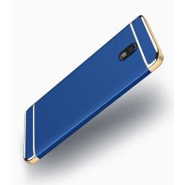 Vaku ® Samsung Galaxy J7 Pro Ling Series Ultra-thin Metal Electroplating Splicing PC Back Cover