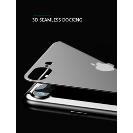 Baseus ® Apple iPhone 7 Plus Silk Screen Printed 0.2mm 9H Hardness Front + Back Tempered Glass