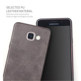 Usams ® Samsung Galaxy A7 (2016) Ultra-thin Elegant Grained Leather Case Back Cover