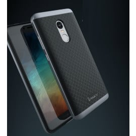 i-KUKE ® Redmi Note 4 KINGPRO Series Ultra-thin Hybrid Silicon Grip Shockproof Protective Shell Back Cover