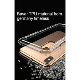 Baseus ® Apple Apple iPhone X / XS Air Bag Case Anti-Drop 4-Corner 360° Protection Full Transparent TPU Back Cover