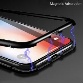 Vaku ® Samsung Galaxy C9 Pro Electronic Auto-Fit Magnetic Wireless Edition Aluminium Ultra-Thin CLUB Series Back Cover