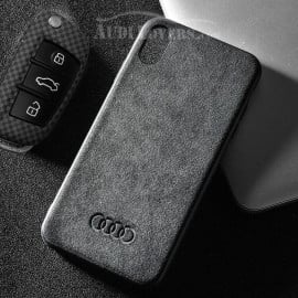 VAKU ® Apple iPhone X / XS Alcantara Panamera Suede Series