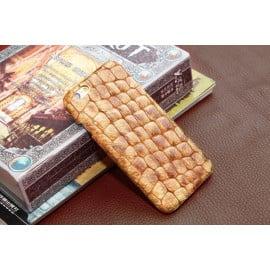 I-idea ® Apple iPhone 6 / 6S Luxury Stone Pattern Genuine Full Grain Leather Back Cover