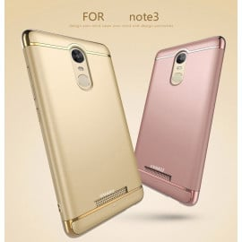 Vaku ® Redmi Note 3 Ling Series Ultra-thin Metal Electroplating Splicing PC Back Cover