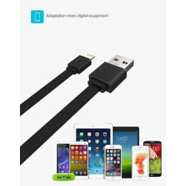 Joyroom ® Business Travel 2.4A Fast Charging Copper Contact 1M Apple Lightning Port Charging / Data Cable