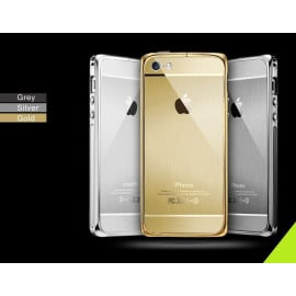 ProCASE ® Apple iPhone 5 / 5S / SE Ultra Slim Luxurious Brushed Aluminium Metal Bumper + Back Cover