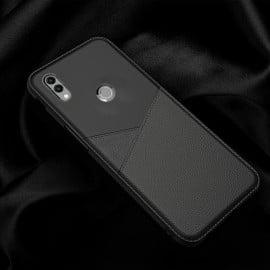 Vaku ® Xiaomi Redmi Note 7 / Note 7 Pro Business Leather Pattern Soft TPU Back Cover