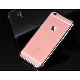 MeePhone ® For Apple iPhone 6 / 6S Noble Series Metal Electroplating Bumper Transparent Back Cover