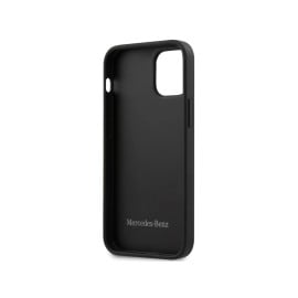 Mercedes Benz ®  Apple iPhone 12 / 12 Pro / 12 Pro Max Wingjet Signature Genuine Leather Back Cover