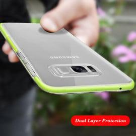 Rock ® Samsung Galaxy S8 Plus High-Drop Crash-Proof Ultra Guard Series Three-Layer Protection TPU Back Cover