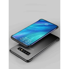 VAKU ® Samsung Galaxy S10 Plus Frameless Semi Transparent Cover