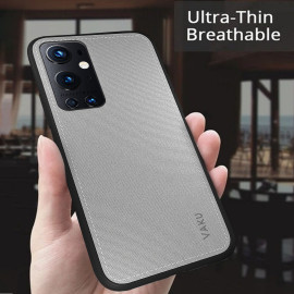 Vaku ® OnePlus 9 Pro Luxico Series Hand-Stitched Cotton Textile Ultra Soft-Feel Shock-proof Water-proof Back Cover