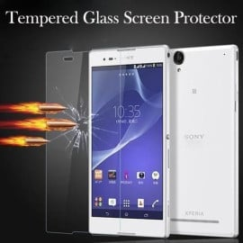 Dr. Vaku ® Sony Xperia C3 Ultra-thin 0.2mm 2.5D Curved Edge Tempered Glass Screen Protector Transparent