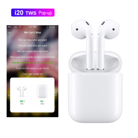 VAKU AirPods ® Apple 1:1 AirPods Bluetooth enabled Wireless earphones With POP-UP Window Bluetooth v5.0+EDR