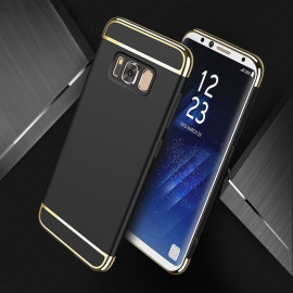 Vaku ® Samsung Galaxy S8 Ling Series Ultra-thin Metal Electroplating Splicing PC Back Cover