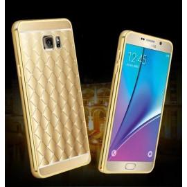 Xuenair ® Samsung Galaxy Note 5 Dazzling Acrylic Ultra Slim Metal Electroplating Aluminium Bumper + Back Cover