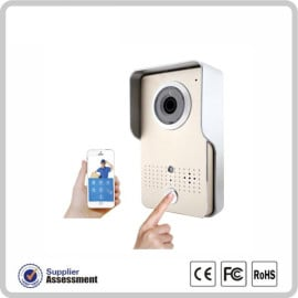 VAKU ® WIFI Video Intercom Doorbell with Motion Sensor and Night Vision and supports taking photo and video