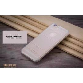 Beckberg ® Apple iPhone 6 / 6S Anti-Shock Grip Razor Metallic Finish TPU Protective Shell Back Cover