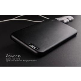 i-Paky ® Apple iPhone 6 / 6S BOB Series Soft PU Leather Finish Back Cover