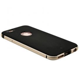 Baseus ® Apple iPhone 6 / 6S Earl Series Dream Mesh TPU Case With Metal Bumper Back Cover