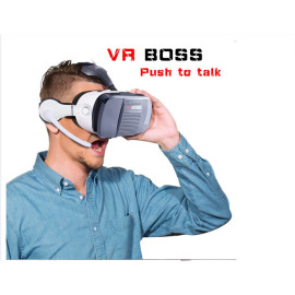 VR BOSS  3D Virtual Reality VR Glasses Headset Smart Phone 3D Private Theater for 4.0 - 6.0 inches Smartphone