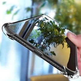 Vaku ® Apple iPhone SE 2020 Gorilla Glass PureView Series Anti-Drop 4-Corner 360° Protection Full Transparent TPU Back Cover Transparent