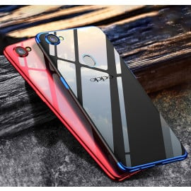 Vaku ® OPPO F5 Youth CAUSEWAY Series Top Quality Soft Silicone 4 Frames + Ultra-thin Transparent Cover