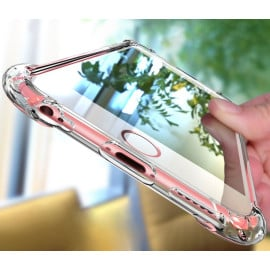 Vaku ® Apple iPhone 5 / 5S / SE PureView Series Anti-Drop 4-Corner 360° Protection Full Transparent TPU Back Cover