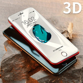 Dr. Vaku ® Apple iPhone 8 3D Curved Edge Full Screen Tempered Glass