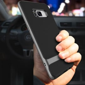 Rock ® Samsung Galaxy S8 Plus Royle Case Ultra-thin Dual Metal Soft / Silicon Case