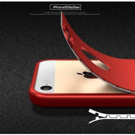Vaku ® Apple iPhone 5 / 5S / SE 7D Series PC Case  Dual-Colour Finish 3-in-1 Ultra-thin Slim Front Case + Tempered + Back Cover