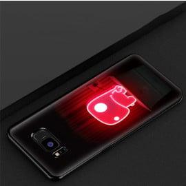VAKU ® Samsung Galaxy S8 NFC Wireless LED Light Illuminated 3D Designer Case Back Cover