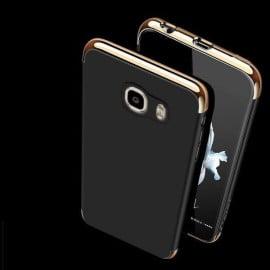 VAKU ® Samsung J7 (2016) Clint Series Ultra-thin Metal Electroplating Splicing PC Back Cover