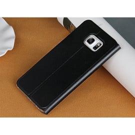 Usams ® Samsung Galaxy S6 Edge Emug Series Smart Awakening Folio + inbuilt Stand Leather Flip Cover