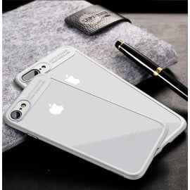 Vaku ® Apple iPhone 8 Plus Kowloon Series Top Quality Soft Silicone  4 Frames plus ultra-thin case transparent cover