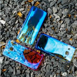Vaku ® Samsung Galaxy J7 (2016) Infinity Series with UV Colour Shine Transparent Full Display PC Back Cover