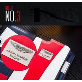 Aston Martin Racing ® Apple iPhone 6 / 6S Official Hand-Stitched Leather Case Limited Edition Back Cover