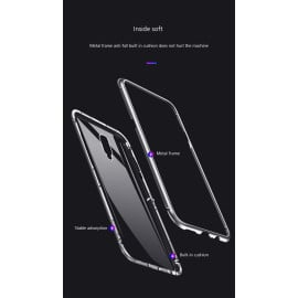 Vaku ® OnePlus 7 Pro Electronic Auto-Fit Magnetic Wireless Edition Aluminium Ultra-Thin CLUB Series Back Cover