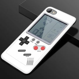 Vaku ® Apple iPhone 6 / 6S Retro Video Gaming Console 26 in 1 Games Like Tetris, Shooting, Racing, Tank, Memory etc. + Drop-Protection Back Cover