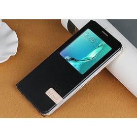 Usams ® Samsung Galaxy S6 Edge Plus Emug Series Smart Awakening Folio + inbuilt Stand Leather Flip Cover