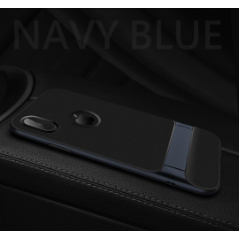Rock ® Apple iPhone X Royle Case Ultra-thin Dual Metal + inbuilt Stand Soft / Silicon Case