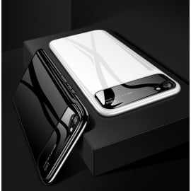 Vaku ® Vivo V5 / V5s Polarized Glass Glossy Edition PC 4 Frames + Ultra-Thin Case Back Cover