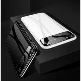 Vaku ® Vivo V5 / V5s Polarized Glass Glossy Edition PC 4 Frames + Ultra-Thin Case Back Cover