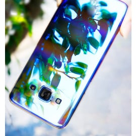 Vaku ® Samsung Galaxy A8 Infinity Series with UV Colour Shine Transparent Full Display PC Back Cover