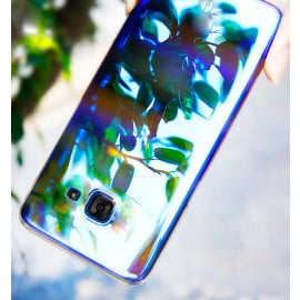 Vaku ® Samsung Galaxy A7 (2016) Infinity Series with UV Colour Shine Transparent Full Display PC Back Cover