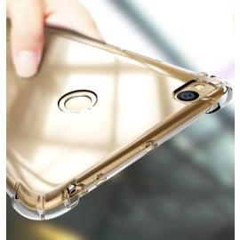 Vaku ® Xiaomi Redmi 4 PureView Series Anti-Drop 4-Corner 360° Protection Full Transparent TPU Back Cover Transparent
