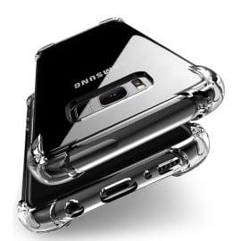 Vaku ® Samsung Galaxy J5 Prime PureView Series Anti-Drop 4-Corner 360° Protection Full Transparent TPU Back Cover Transparent